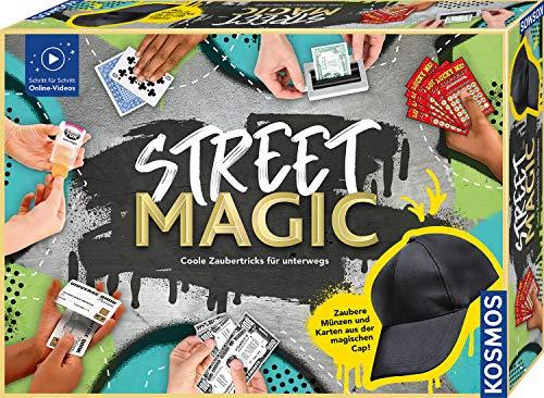 Kosmos 682002 Street Magic, Coole Zaubertricks für unterwegs, magische Zauberutensilien, 75 Tricks,...