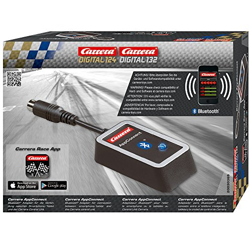 Carrera AppConnect – Bluetooth-Adapter für die Carrerabahn DIGITAL 124 oder DIGITAL 132 –...