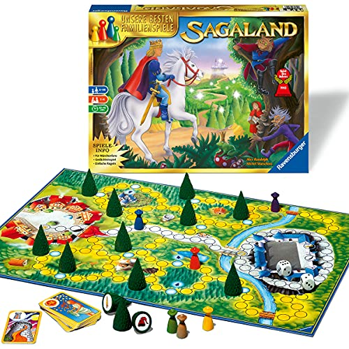 Ravensburger 26424 - Sagaland - Gesellschaftsspiel für Kinder und Erwachsene, 2-6 Spieler, ab 6 Jahren,...