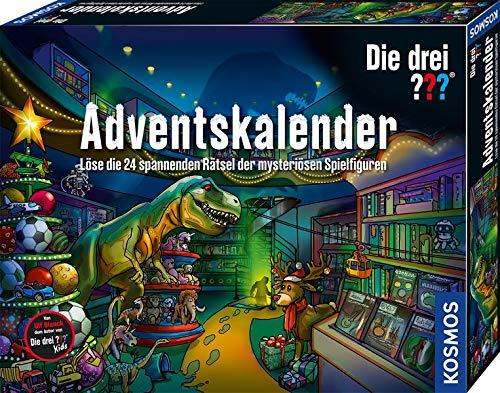 Kosmos Die drei ??? Adventskalender 2020 Löse die 24 spannenden Rätsel der mysteriösen Spielfiguren,...