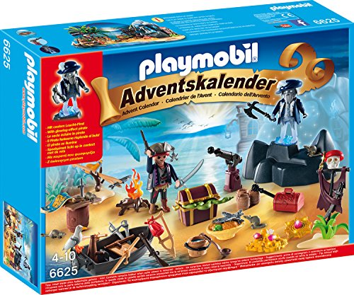 Playmobil - Adventskalender Geheimnisvolle Piratenschatzinsel
