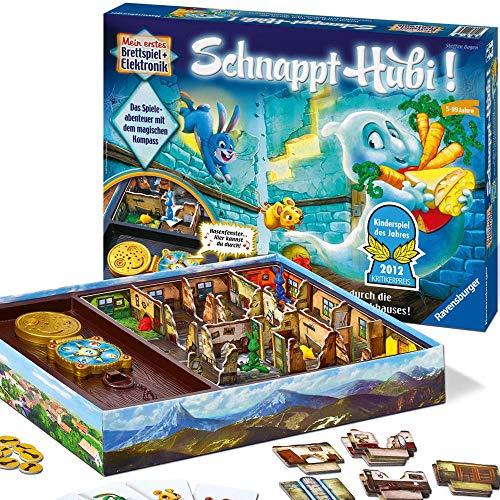 Ravensburger Schnappt Hubi, Gesellschafts- und Familienspiel, für Kinder und Erwachsene, Spiel des...