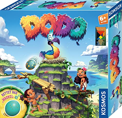 Kosmos 697945 Dodo - Rettet das Wackel-Ei, rasantes Brettspiel für Kinder ab 6 Jahre, für 2 - 4...