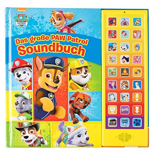 PAW Patrol - Das große PAW Patrol Soundbuch - 27-Button-Soundbuch mit 24 Seiten für Kinder ab 3 Jahren