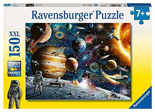 Ravensburger 10016 Im Weltall 150 Teile XXL Kinderpuzzle - Puzzle für Kinder ab 7 Jahren