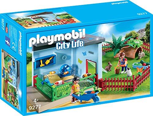 PLAYMOBIL City Life 9277 Kleintierpension mit vielem Zubehör, ab 4 Jahren