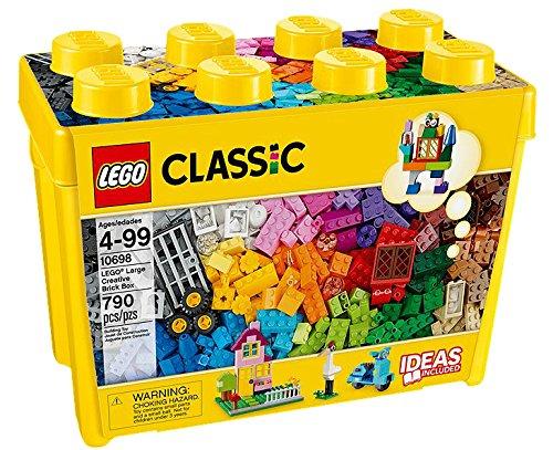 LEGO Classic große kreative Backstein-Box–-Spiele Bau (mehrfarbig, 4Jahr (S), 790Stück (S),...