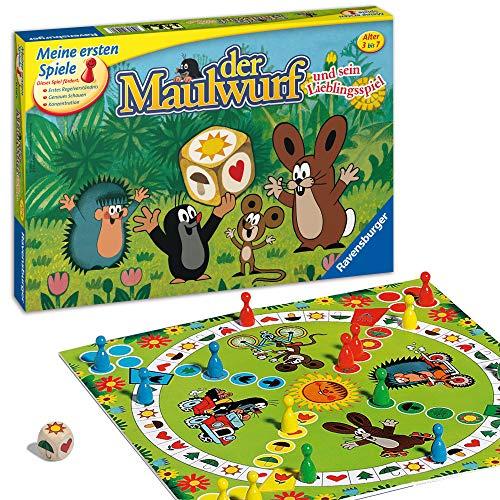 Ravensburger 21570 - Der Maulwurf und sein Lieblingsspiel - Spiel für Erwachsene und Kinder ab 3 Jahren,...
