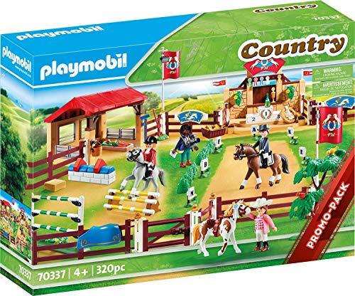 PLAYMOBIL Country 70337 Großer Reitturnierplatz, ab 4 Jahren