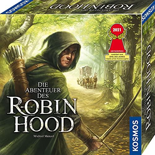 KOSMOS 680565 Die Abenteuer des Robin Hood, Nominiert zum Spiel des Jahres 2021, Kooperatives...