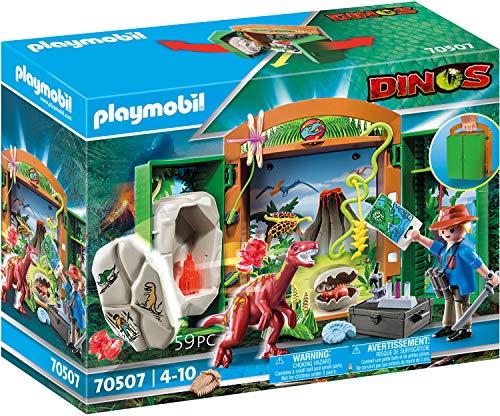 PLAYMOBIL Dinos 70507 Spielbox Dinoforscher, Ab 4 Jahren