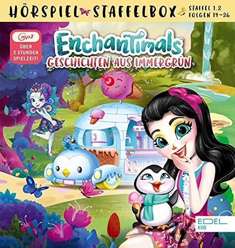 Enchantimals - Geschichten aus Immergrün - mp3-Staffelbox 1.2 - Die Original-Hörspiele zur TV-Serie...
