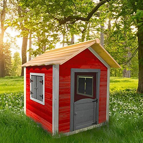 Home Deluxe - Spielhaus aus Holz für Kinder - umweltfreundliches Kinderspielhaus - Das kleine Schloss -...