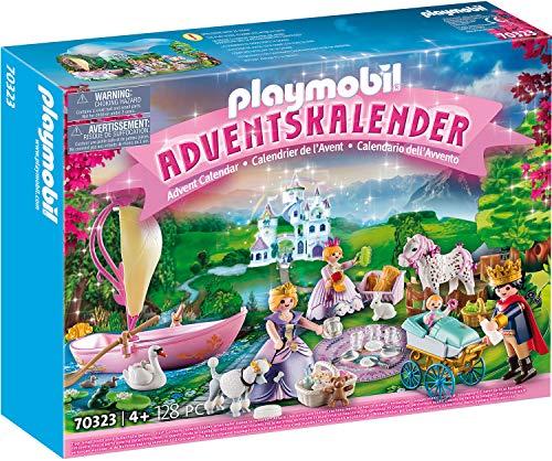 PLAYMOBIL Adventskalender 70323 Königliches Picknick im Park, Für Kinder ab 4 Jahren
