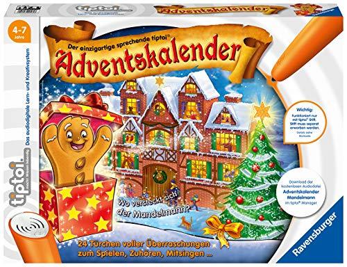 Ravensburger - tiptoi Adventskalender Mandelmann