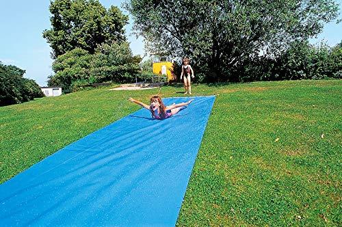 Sport-Thieme Wasserrutschbahn für Kinder u. Erwachsene im Garten   L: 6m, B: 1,10 m   Premium Qualität...
